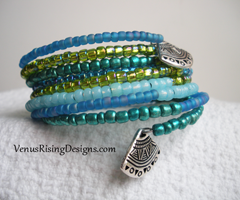 Blues and Greens Bracelet