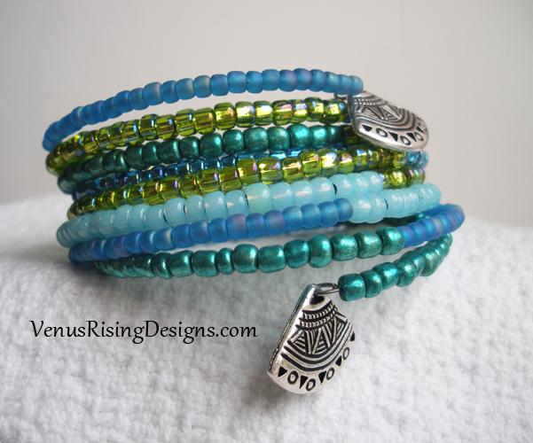 Blues and Greens Bracelet