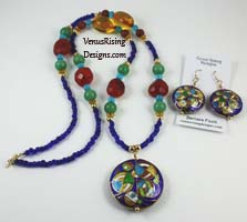 Bohemian Necklace Set
