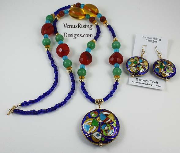 Bohemian Necklace Set