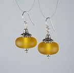 Butterscotch Drops Earrings