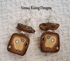 Cappucino Earrings