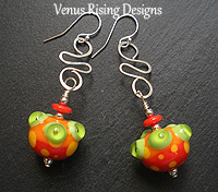 Citrus Dots Earrings