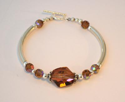 Cosmic Copper Noodle Bracelet