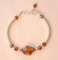 Cosmic Copper Noodle Adj. Bracelet