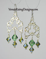 Ocean Filigree Earrings