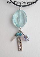 Peaceful Aqua Necklace