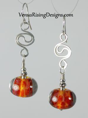 Wild Lava Earrings